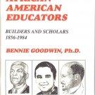 Distinguished African American Educators