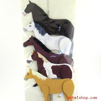 HORSE PONY HANGING MOBILE FOR HOME SCHOOL STORE NURSERY