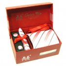 100% Silk Plaid Stripe pattern Neck Tie Cufflink Handkerchief Gift Set Pink Navy with Gift Box.