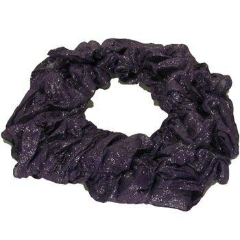 5 Way Infinity Light Thin Ring Scarf  Purple Silver