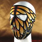 BUTTERFLY NEOPRENE FULL FACE MASK NOSE MOUTH VENT SNOW