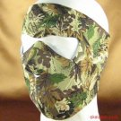 CAMOUFLAGE NEOPRENE FULL FACE MASK NOSE MOUTH VENT SNOW