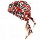 Fitted Bandana Du Rag Wrap Headwrap US Confederate Flag
