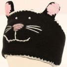 Winter Lined Headband Headwrap Ski 3D Animal Knit Cat