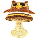 San Diego Hat Co Kids 1-2 Beanie Handknit Owl Animal