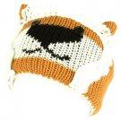 Winter Fleece Lined Knit Adjustable Headband Headwrap Ski Snow Animal Knit Lion