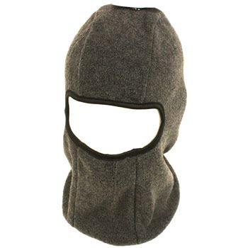 Winter 1 hole Fleece Ski Beanie Skull & Ski Snow Face Mask Gray