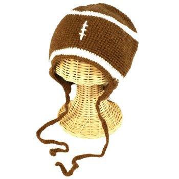 Winter Boys Toddler Kids 1-2 San Diego Hat Co Knit Football Trooper Hat Cap