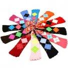 Ladies Cute Warm Toe Socks 12 Pairs Argyle Plaid Crew Ladies Mid Calf Pack Set