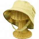 San Diego Kids Toddler Boys Kids 2-4 Boonie Bucket Hat Cap 48cm Reversible Beige