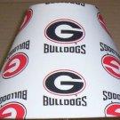 GEORGIA BULLDOGS Fabric Lampshade Lamp Shade UGA DAWGS NCAA 6459