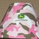 JOHN DEERE PINK CAMO LAMPSHADE FABRIC lampshade FARM TRACTOR CAMOFLAGE 6459