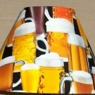 Mancave Fabric Lampshade lamp shade Beer Mug Mugs 6459