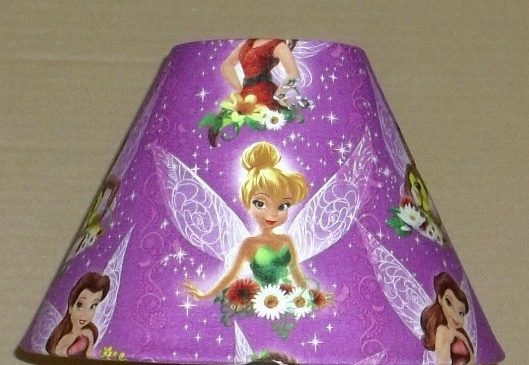 Disney Fairies Fabric Lampshade lamp shade Fairy Tinkerbell