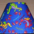 DRAGONS LAMP AND SHADE FABRIC lampshade