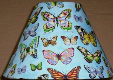 Butterfly Fabric Lampshade lamp shade Butterflies 6459