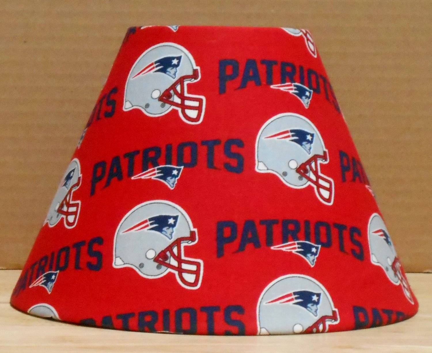 New england patriots fabric lamp shade lampshade sports nfl new england patriots fabric lamp shade lampshade sports nfl football handmade desk table mozeypictures Images