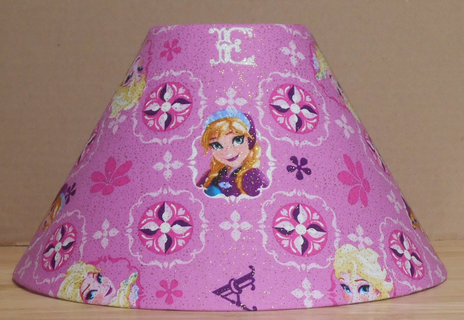 Disney frozen anna fabric lamp shade lampshade elsa mozeypictures Images