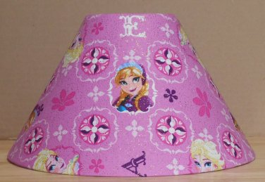 Disney Frozen Anna fabric Lamp Shade Lampshade Elsa