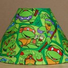 Teenage Mutant Ninja Turtles fabric Lamp Shade Lampshade Turtle Power 469