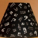 Musical Notes Lampshade Music Table Desk Handmade Lamp Shade