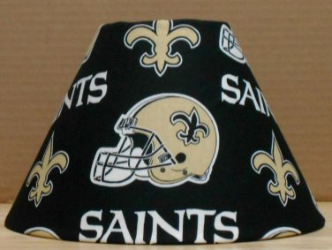 Orleans saints fabric lamp shade lampshade sports nfl football new orleans saints fabric lamp shade lampshade sports nfl football handmade desk table mozeypictures Image collections
