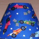 Race Cars Fabric Lampshade Lamp Shade  Racing 6459