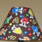 M&M'S FABRIC LAMPSHADE lamp shade M and M Candy Handmade Desk Table Mult color