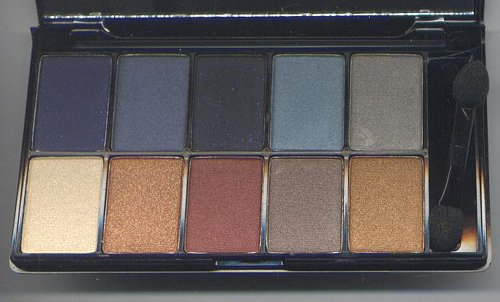NYX Runway Collection 10 Eyeshadow Pallet -BLUE EYES