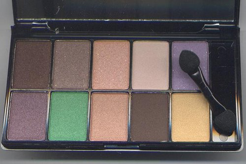 NYX Runway Collection 10 Eyeshadow Pallet -BROWN EYES