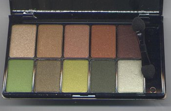 NYX Runway Collection 10 Eyeshadow Pallet -#8 Secret World