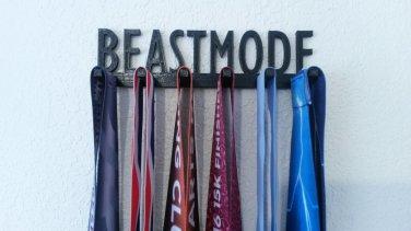 Beastmode Marathon Medal Display Medal Rack Medal Holder Running Medal Hanger