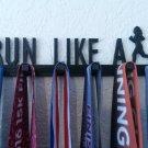 Run Like A Girl Running Marathon Sports Medal Display Medal Rack Medal Holder Medal Hanger
