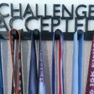 Challenge Accepted Marathon Medal Display Medal Rack Medal Holder Running Medal Hanger