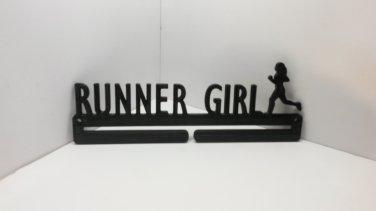 Runner Girl Running Marathon Sports Medal Display Medal Rack Medal Holder