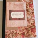 Floral Print Cover Altered Art Journal