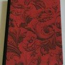 Red/Black Toile Altered Art Journal