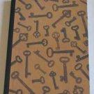 Skeleton Keys Cover Altered Art Journal
