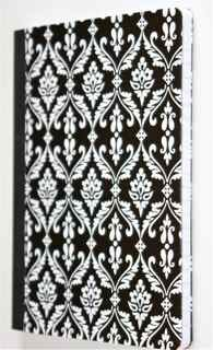 Black and White French-Style Altered Art Composition Journal