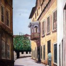 Historical Zanzibar Oil on Canvas