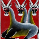 Red Antelope Oil on Canvas