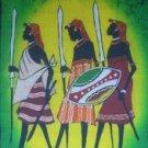 Tribal Warriors Candle Wax Batik