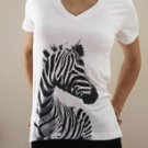 100% Cotton Zebra T-Shirt