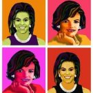 Jackie kennedy Michelle Obama Giclee on Canvas