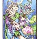 White Wolf Mage Diana Print