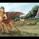 Sphinx-taur Print