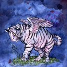 Winged Tiger Cub Print