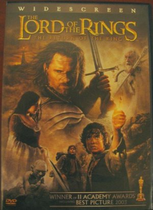 The Lord of the Rings: The Return of the King- LotR RotK widescreen dvd movie 2 discs