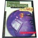 Database Publishing with Filemaker Pro on the Web