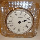Staiger Lead Crystal Quartz Desk Clock